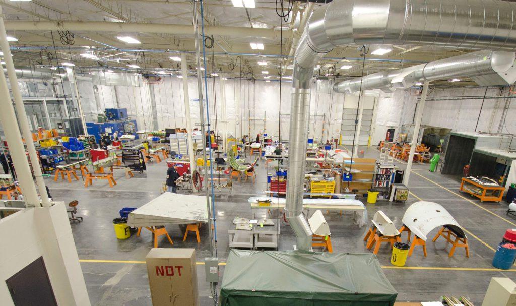 ATS Components – Everett shop floor