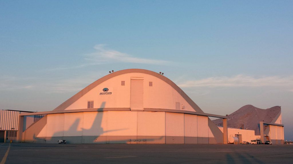 Sunrise on our ATS Kansas City, MO airframe facility
