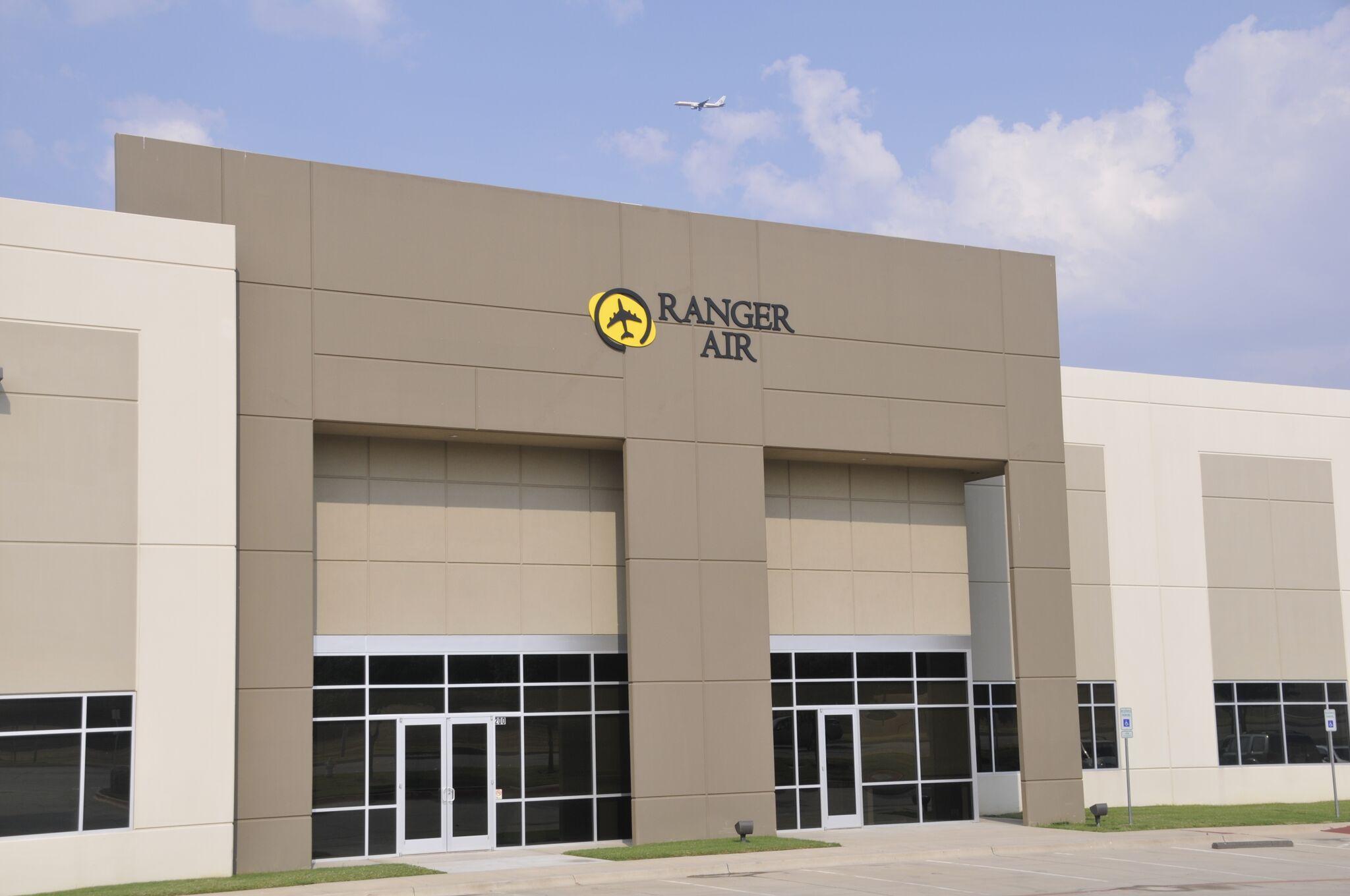 Ranger Air offices, Lewiston, TX
